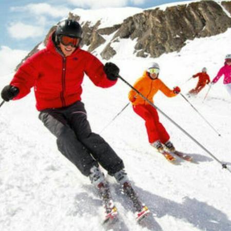 Esquiar o snow