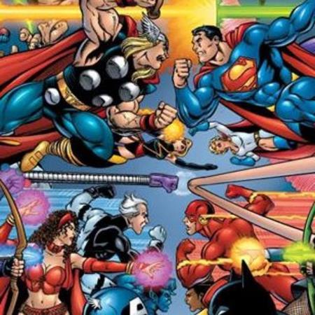 Marvel y dc comic