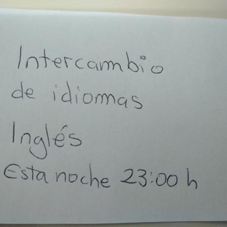 Intercambio inglés