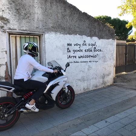 vueltas en moto por Madrid