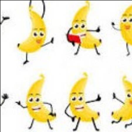 Plátano gracioso