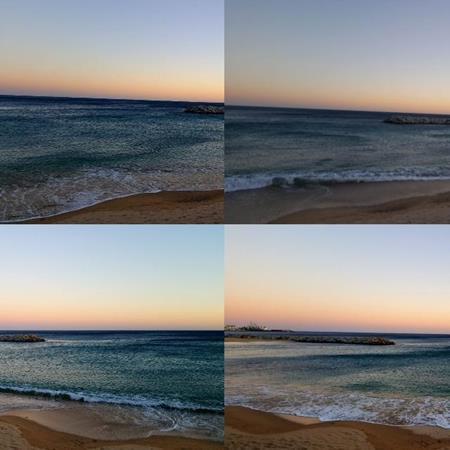 Me gusta el mar ...