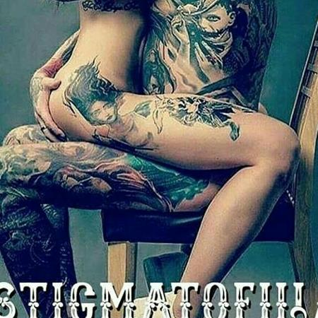 Gente tatuada