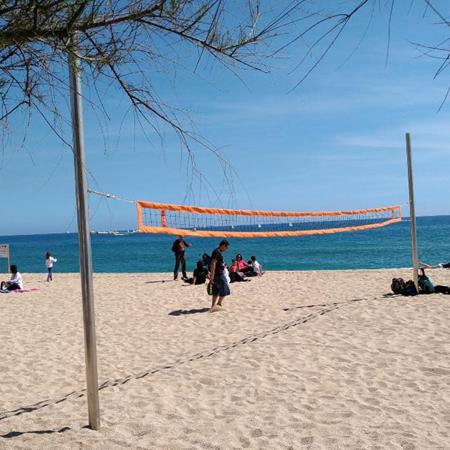 Voley playa badalona