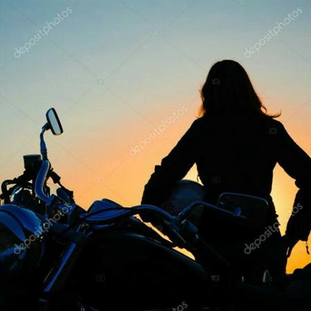 Rutillas con la moto
