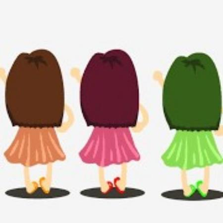 Chicas para grupo de amistad